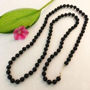 Jewelry - Black Onyx Beaded Necklace